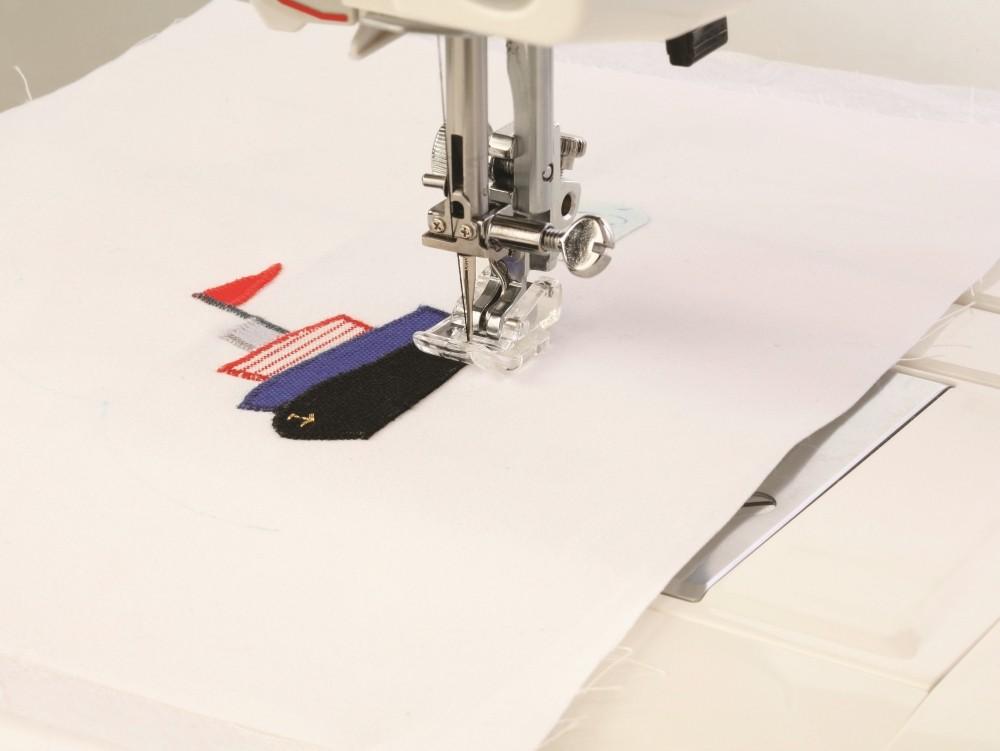 pied application elna 202086208 pied pour machines coudre elna. Black Bedroom Furniture Sets. Home Design Ideas