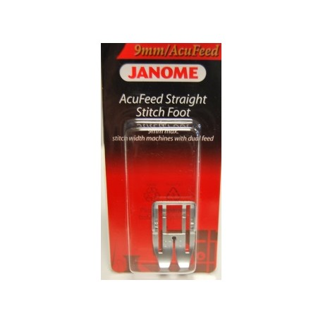 Semelle Acu-Feed point droit Janome 202102005