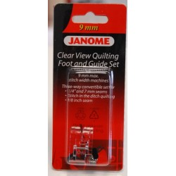 Pied quilting avec guides Janome 9 mm 202089005
