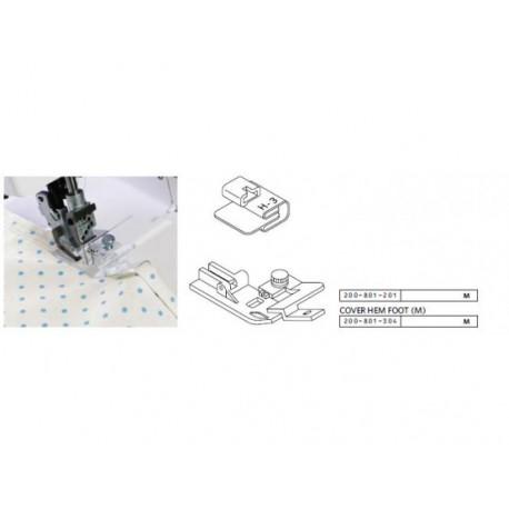 Guide finition bords avec biais H3 Janome 1200D 200801201