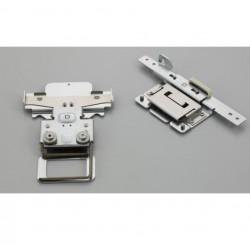 Cadre clipsable 45 x 24 mm VRCLP45B