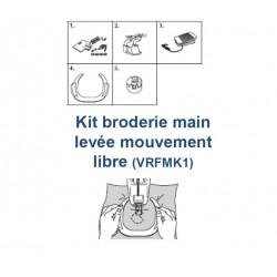 Kit broderie mains libres Brother VR VRFMK1
