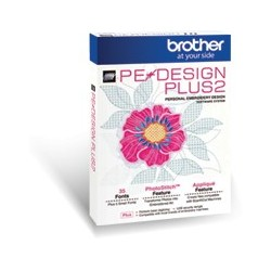 LOGICIEL BROTHER PE DESIGN PLUS 2