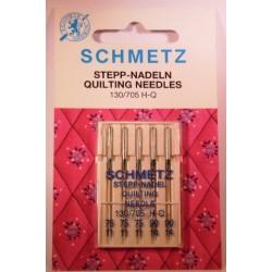 5 aiguilles quilting 75/90 Schmetz