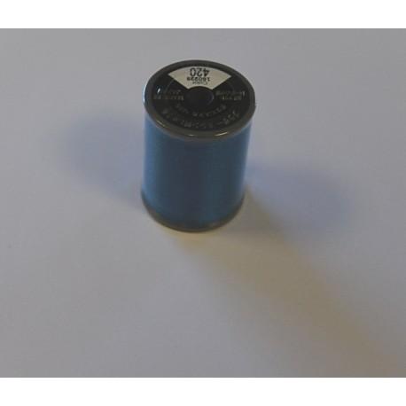 bobine fil a broder brother 300 m 420 bleu electrique bobine de 300. Black Bedroom Furniture Sets. Home Design Ideas