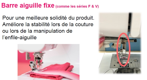 Barre aiguille fixe Brother Innovis A16