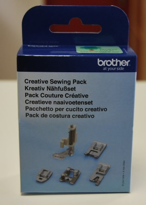 Pack couture creative Brother Innovis 55 Fashion Edition