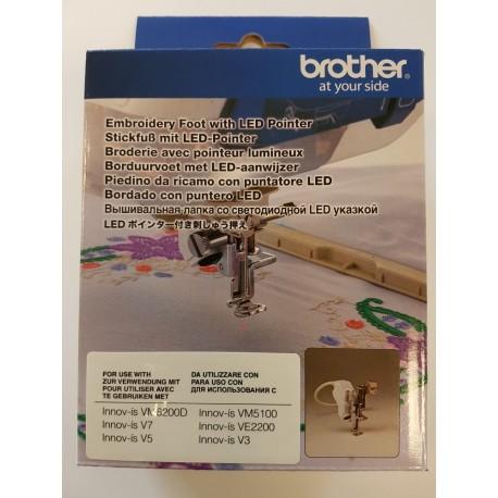 PIED A BRODER LED BROTHER V3/V5/V7 FLED1 avec pointeur lumineux