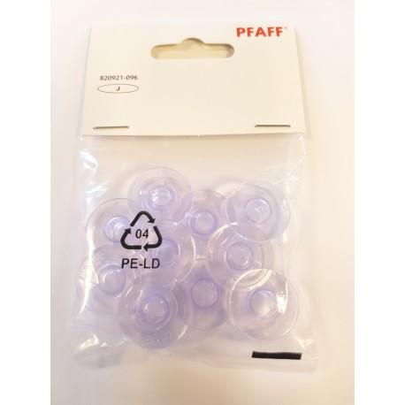 10 canettes Pfaff grises 820921096
