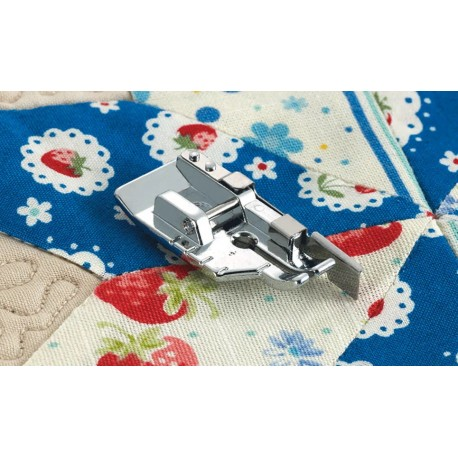 """Pied patchwork avec guide Brother F057N pied d'assemblage 1/4"""""""