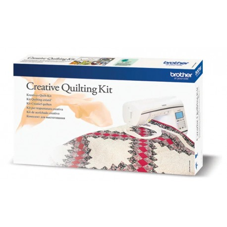 PACK QUILTING BROTHER QKF2 Ce kit Quilting dispose des accessoires essentiels pour le Patchwork ou le Quilting.