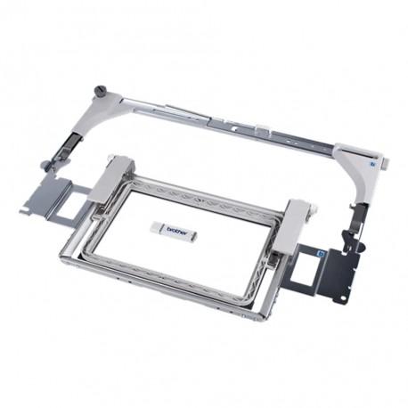 Cadre bordure 100 x 180 mm Brother VRBF180 Repositionnez votre tissu sans enlever le cadre