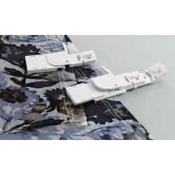 Brother guide ourlet recouvreuse CV3440 CV3550 Réalisez des ourlets uniformes et professionnels à l'aide des différents guides d