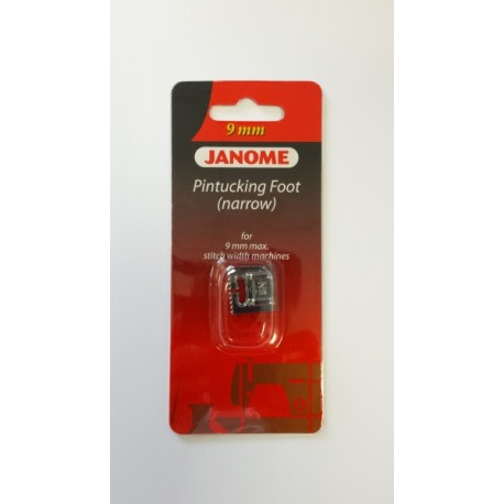 Pied nervures étroites N2 9 mm Janome 202094003