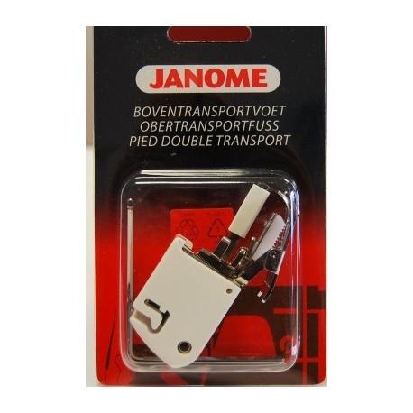 Pied double entraînement + guide Janome 200 311 313
