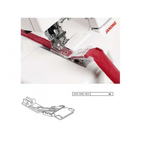 Pied à bretelles et passe-ceinture Janome 1200D 200808002