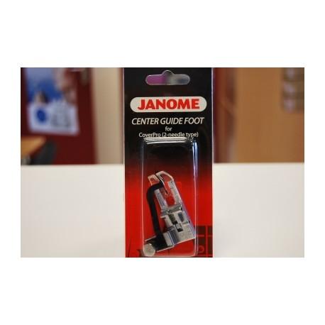 Pied avec guide central recouvreuse Janome 900 795820102