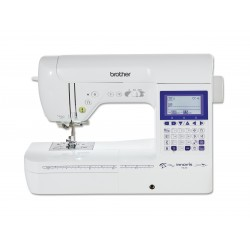 BROTHER INNOVIS F420 + PACK QUILTING + COFFRET 18 BOBINES