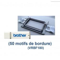 Cadre bordure 100 x 180 mm VRBF180