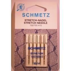 5 aiguilles stretch 90 Schmetz