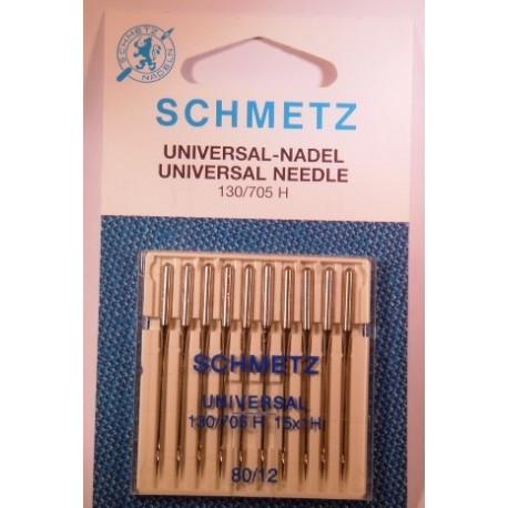 10 aiguilles standard 80 Schmetz