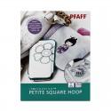 CADRE PFAFF PETITE SQUARE HOOP 80X80 MM 821006096