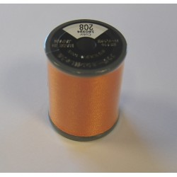 BOBINE FIL A BRODER BROTHER 300 M 208 ORANGE